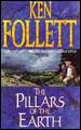 """""""Os Pilares da Terra"""" - 2 volumes - Ken Follett - (Editora Rocco, 1991)."""