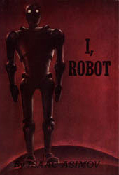 I, Robot - Isaac Asimov: Capa da primeira edição do livro