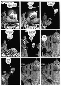 "Página da Graphic Novel ""From Hell"" de Alan Moore"